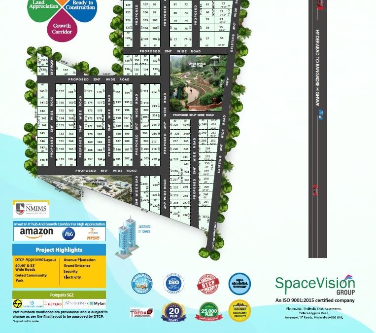 Space vision Amb Balanagar layout